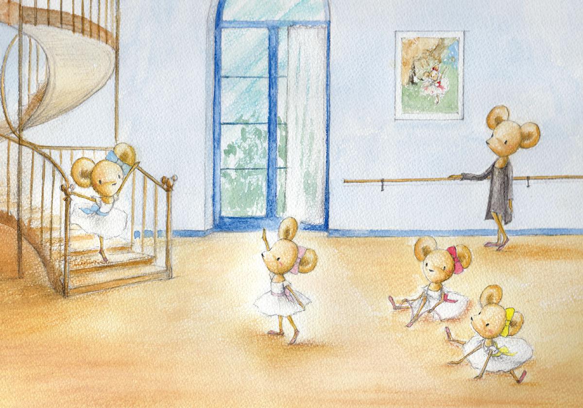 On Danse Shoko Yoshida Illustration Gallery